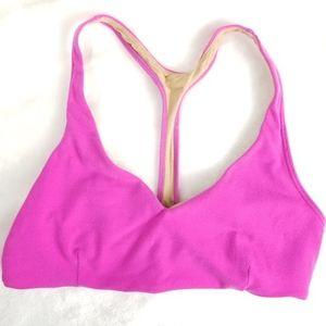 Lululemon Racerback Sports bra Hot Pink Size 6